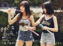 Eunha and Yuju Parallel Promo Picture