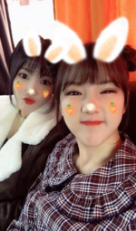 Yerin and Yuju Insta Update Nov 7, 2017 (1)