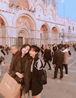 Eunha and SinB Insta Update Nov 3, 2017
