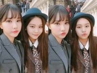 Eunha and Umji Insta Update Nov 1, 2017 (2)