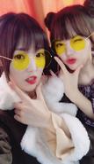 Yerin and Yuju Insta Update Nov 7, 2017 (3)