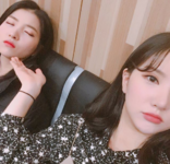 Sowon and Eunha Insta Update Jan 5, 2018 (1)