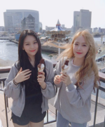 SinB and Umji Insta Update Apr 4, 2018 (2)