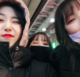 Yerin, Eunha and SinB Insta Update Jan 27, 2018 (2)
