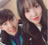 Yuju and Lim Hyo Jun Insta Update Feb 24, 2018