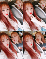 Yuju and SinB Insta Update May 21, 2018