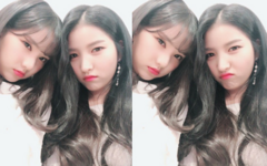 Sowon and Eunha Insta Update Dec 13, 2017 (1)