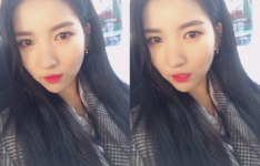 Sowon Insta Update Nov 6, 2017