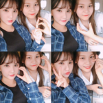 Eunha and Umji Insta Update Jul 17, 2017