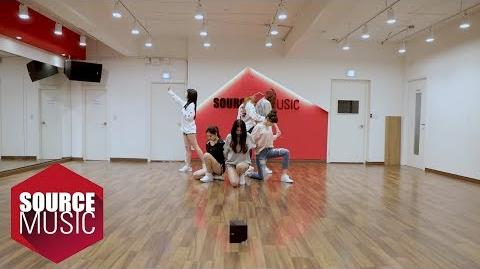 여자친구 GFRIEND - 밤 (Time For The Moon Night) Dance Practice ver