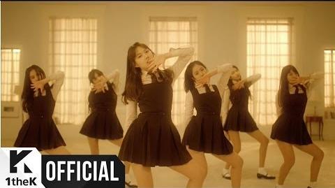 MV 여자친구(GFRIEND) 시간을 달려서(Rough) (Choreography Ver