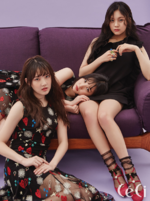 Yerin, SinB and Umji CéCi Feb 2018