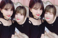 Yerin and Eunha Insta Update June 1, 2017