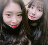 Yuju and DIA's Chaeyeon Insta Update Jan 29, 2018 (1)