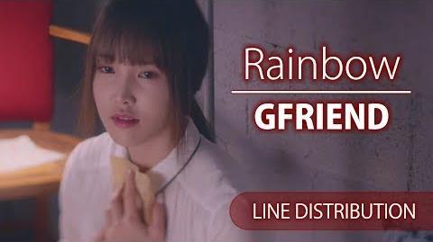 GFriend - Rainbow (Line Distribution)