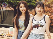 Sowon and Yerin Parallel Promo Picture