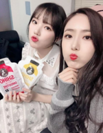 Yerin and SinB Insta Update Jan 2, 2018