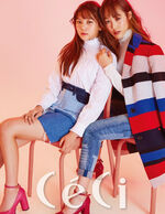 Yuju and Umji CéCi Magazine September 2016 Issue