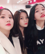 Sowon, Eunha and Umji Insta Update Nov 8, 2017 (2)