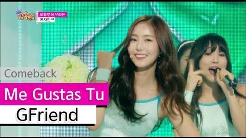 Comeback Stage GFriend - Me Gustas Tu, 여자친구 - 오늘부터 우리는, Show Music core 20150725