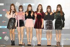GFRIEND at 2016 Mnet Asian Music Awards