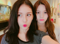 Umji and Jeon Somi Insta Update Aug 29, 2017 (1)