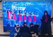 Yerin, Eunha, Yuju and SinB Insta Update Jan 16, 2018 (1)