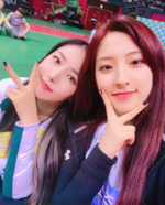 SinB and WJSN's Eunseo Insta Update Jan 19, 2018