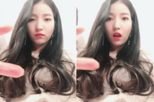 Sowon Insta Update Dec 12, 2017