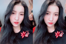 Sowon Insta Update Nov 25, 2017