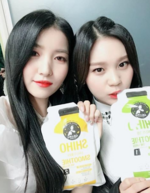 Sowon and Umji Insta Update Jan 2, 2018