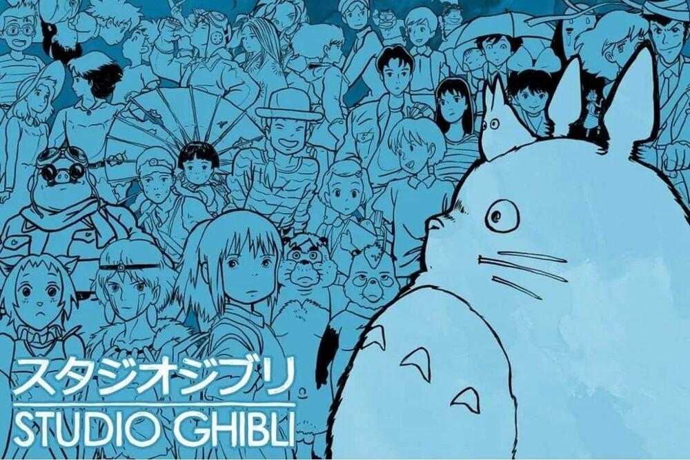 Studio Ghibli (credits - Ariase Blog)