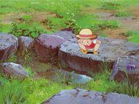 Totoro-gartenteich