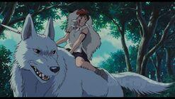 Im Wald auf Wolf- Mononoke