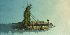 Ghibli-rote-schildkröte-floss