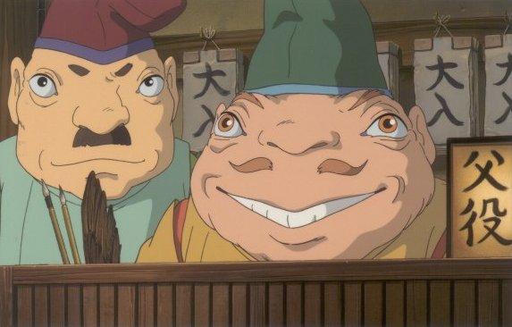 chihiros reise ins zauberland charaktere