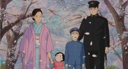 Glühwürmchen-Familie-Foto