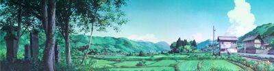 Ghibli tränen yesterday feld klein
