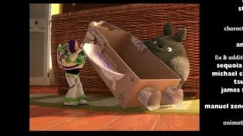 Totoro in Toy Story 3 Extended edition!