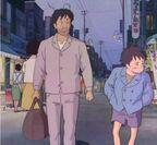 Ghibli tränen yesterday abes vater