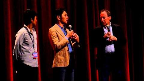 FROM UP ON POPPY HILL (Japan; 2011) Q&A with Goro Miyazaki 宮崎 吾朗 TIFF 2011 1 2-0