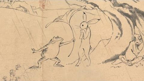 丸紅新電力 鳥獣戯画「出会い」篇