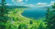 Ghibli-marnie-landhaus-blick