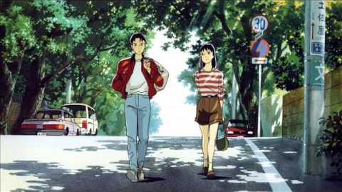 Studio Ghibli - Ocean Waves 1993 Ending Theme (I can Hear the Sea)
