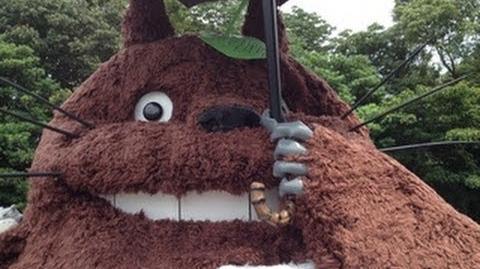 巨大トトロを作ってみた(My Neighbor Totoro)龍猫 豆豆龍-1