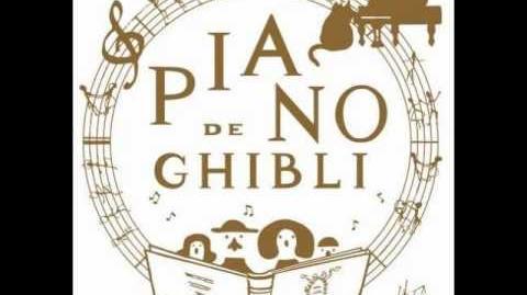 Piano de Ghibli-Ponyo on the Cliff by the Sea (Ponyo)