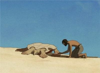 Ghibli-rote-schildkröte-reue