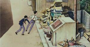 Ghibli-flüstern-faustschlag