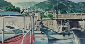 Ghibli-flüstern-kochi-hafen