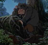 Mononoke-jigou-bear